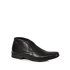 Kickers - Black 'Ferrock Boot 2' leather boots