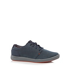 Merrell - Blue suede lace up walking shoes