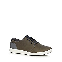 Merrell - Grey suede lace up walking shoes
