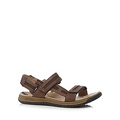 Merrell - Brown leather walking sandals