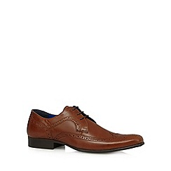 Red Tape - Tan leather lace up brogues