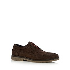 Red Tape - Brown suede brogues