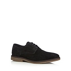 Red Tape - Black suede lace up shoes
