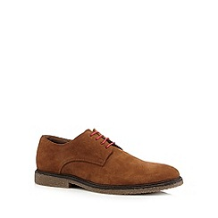 Red Tape - Tan suede derby shoes