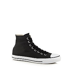 Converse - Black canvas trainers