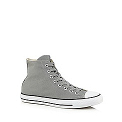 Converse - Grey high top trainers
