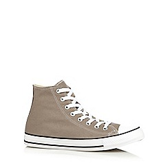 Converse - Grey lace up trainers