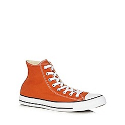 Converse - Orange canvas trainers