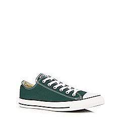 Converse - Green canvas trainers