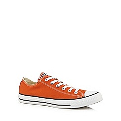 Converse - Orange lace up trainers