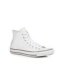 Converse - White 'CTAS Evergreen' high top trainers