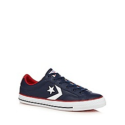 Converse - Navy 'American Icon Star' trainers