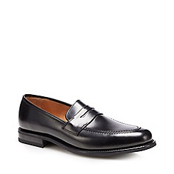 Clarks - Black 'Banfield Walk' leather Derby shoes