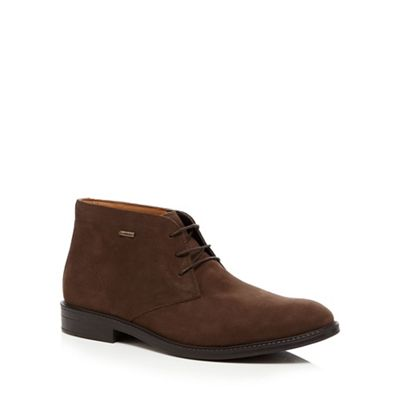 clarks brown suede chilver chukka boots debenhams