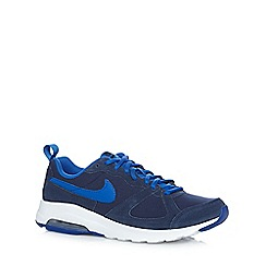 Nike - Navy 'Air max Muse Q3' suede insert trainers