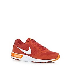 Nike - Orange 'Nightgazer Q3' trainers