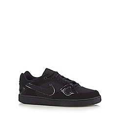Nike - Black 'Son of Force Q3' trainers