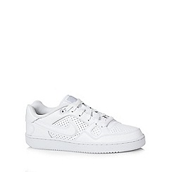 Nike - White 'Son of Force Q3' trainers