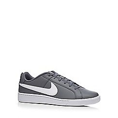 Nike - Grey 'Court Royale Q3' trainers