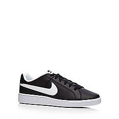 Nike - Black 'Court Royale Q3' trainers