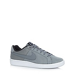 Nike - Grey 'Court Royale Plus Q3' suede trainers
