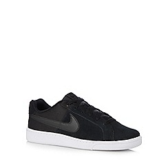 Nike - Black 'Court Royale Plus Q3' lace up trainers