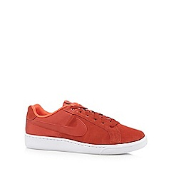 Nike - Dark orange 'Court Royale Plus Q3' trainers