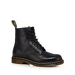 Dr Martens - Black leather ankle boots