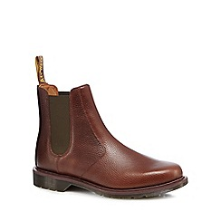 Dr Martens - Dark brown leather Chelsea boots