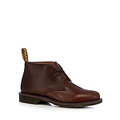 Dr Martens - Dark brown leather Chukka boots