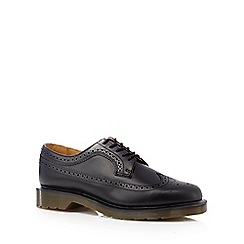 Dr Martens - Black wingtip leather brogues
