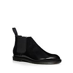 Dr Martens - Black leather Chelsea boots