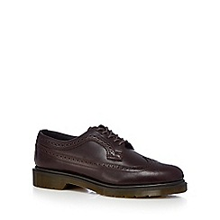 Dr Martens - Dark brown leather brogues