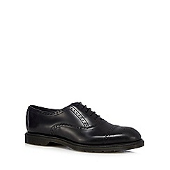 Dr Martens - Black leather brogues