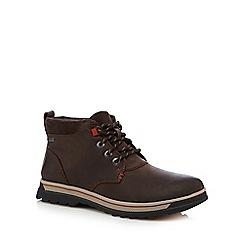Clarks - Dark brown 'RipwayHill GTX' ankle boots