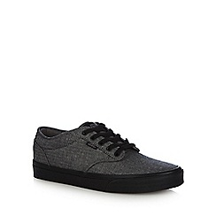 Vans - Dark grey 'Atwood' herringbone trainers