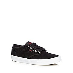 Vans - Black suede 'Atwood' quilted trainers