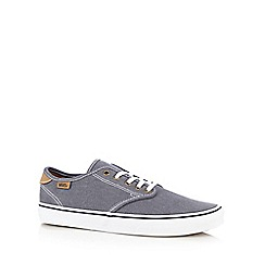 Vans - Blue 'Camden' canvas trainers