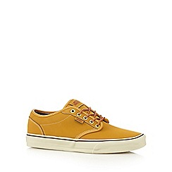Vans - Dark yellow 'Atwood' trainers