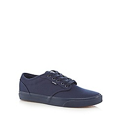 Vans - Navy 'Atwood' canvas trainers