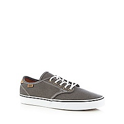 Vans - Grey lace up trainers