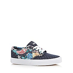 Vans - Navy canvas trainers
