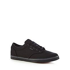 Vans - Black lace up trainers
