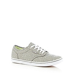 Vans - Grey canvas trainers