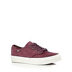 Vans - Purple 'Camden' suede trainers