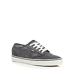 Vans - Dark grey 'Atwood' suede shoes
