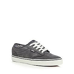 Vans - Dark grey 'Atwood' suede shoes