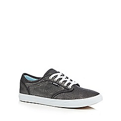 Vans - Black 'Atwood' textured shoes