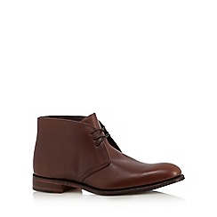 Loake - Brown leather Chukka boots
