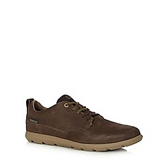 Caterpillar - Brown 'Roamer' suede shoes